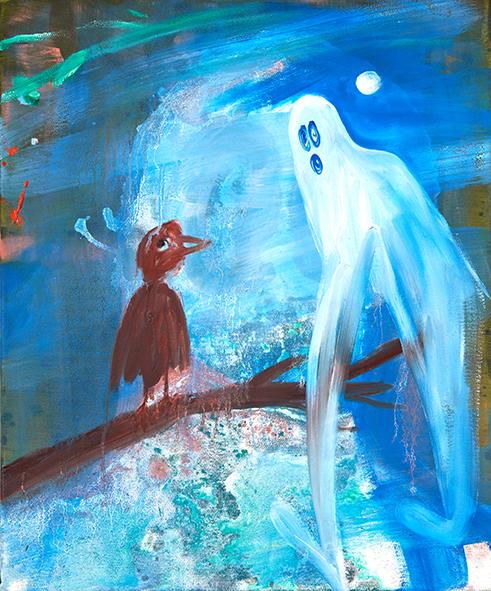 blaue_nachtwanderung_2017_oil_canvas_50_40_cm_kodritsch